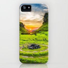Fairytale Landscape, Isle of Skye, Scotland iPhone Case