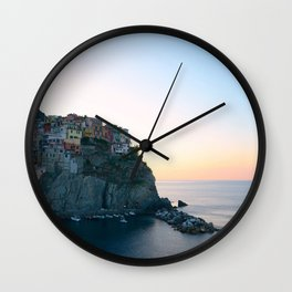 Morning In Italy Wall Clock