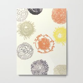 Zooplankton no. 9 Metal Print