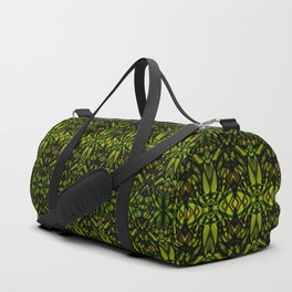 Fractal Art Stained Glass G313 Duffle Bag
