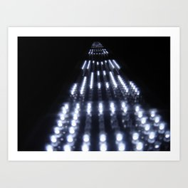 Enter the Void Light Art Print