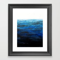 Sea Picture No. 4 Framed Art Print