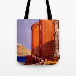 Napoli - Naples Italy Vintage Travel Tote Bag