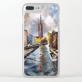 Bruges Clear iPhone Case