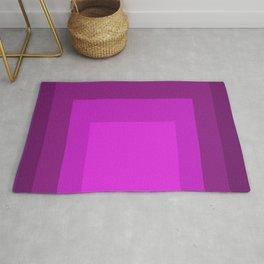 Block Colors - Purple Pink Rug