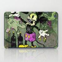 skeletor iPad Cases featuring Mick Skele by Beery Method