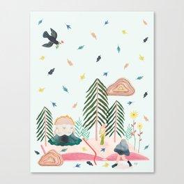 Mycomorphic world Canvas Print