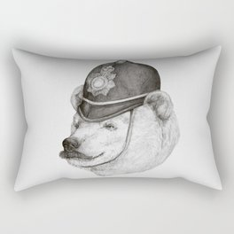 Bearly Legal Rectangular Pillow