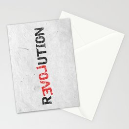 A Simple Message Stationery Cards