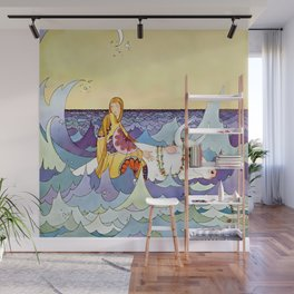 """Europa and the Bull"" by Virginia Sterrett Wall Mural"