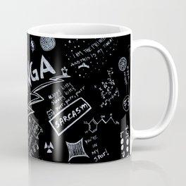 Big Bang Pattern Coffee Mug
