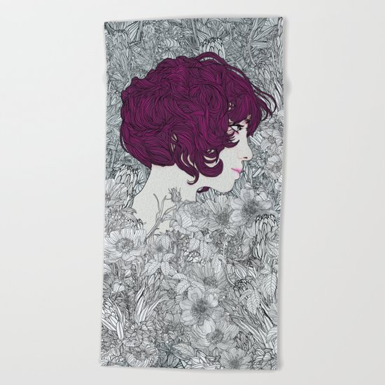 Linger in my Soul Beach Towel