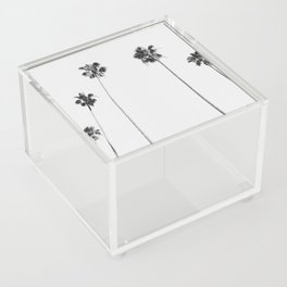 Black & White Palms Acrylic Box