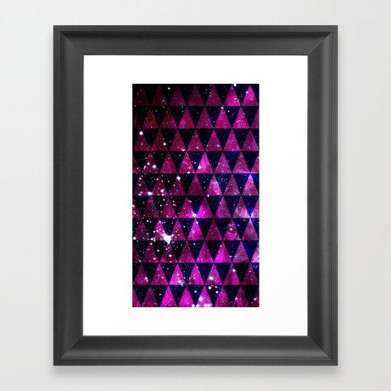 Through Space Framed Art Print