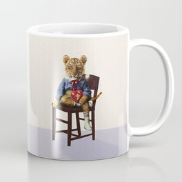Tiny Tiger Valentine Coffee Mug