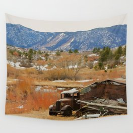 Autumn Jalopy Wall Tapestry