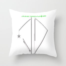 June Dreaming Throw Pillow