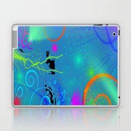 Abstract Neon Art Laptop & iPad Skin