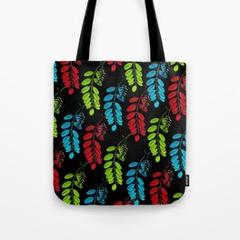 Red, Green and Blue Black Locust Tote Bag