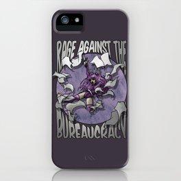 Rage against the Bureaucracy iPhone Case