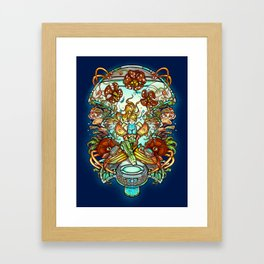 Maternal Instinct Framed Art Print