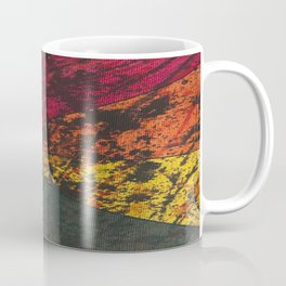Corner Splatter # 11 Coffee Mug