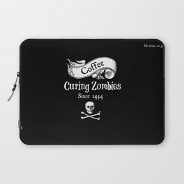 Curing Zombies Laptop Sleeve