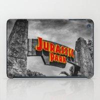 jurassic park iPad Cases featuring Jurassic Park by Mark A. Hyland (MAHPhoto)