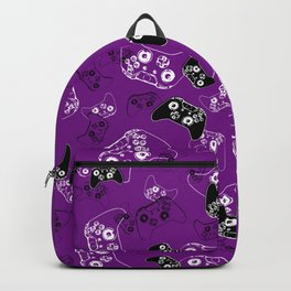 Video Game Purple Backpack