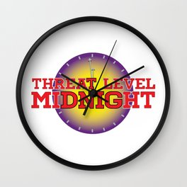 Threat Level Midnight Wall Clock