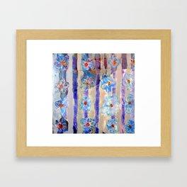 Love Among the Flowers Framed Art Print