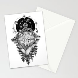 Space Wolf Stationery Cards