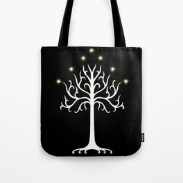 The White Tree of G Tote Bag