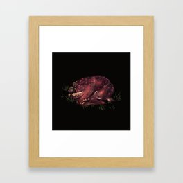 Deer Dear Deer Framed Art Print