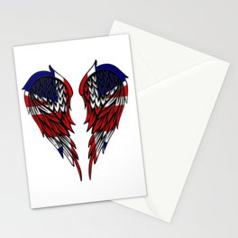 UK wings art Stationery Cards