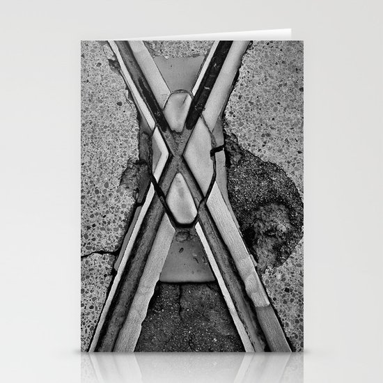 'Crossing X' Stationery Cards