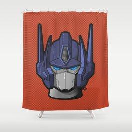 G1 Optimus prime Shower Curtain