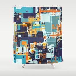 Tech Geek Shower Curtain