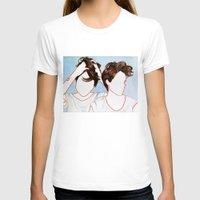 tegan and sara T-shirts featuring Tegan and Sara by Kim Leutwyler