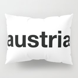 AUSTRIA Pillow Sham