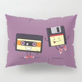Floppy disk and cassette tape Pillow Sham