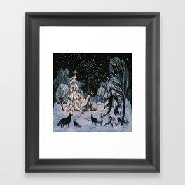 Yule Framed Art Print