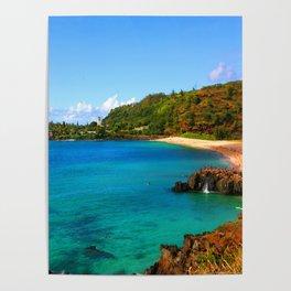 Waimea Bay ... By LadyShalene Poster