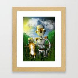 The Groundskeeper Framed Art Print
