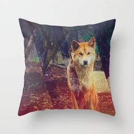 DINGO Throw Pillow