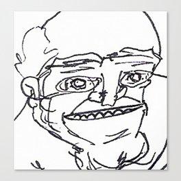 Mr Weirdface Canvas Print