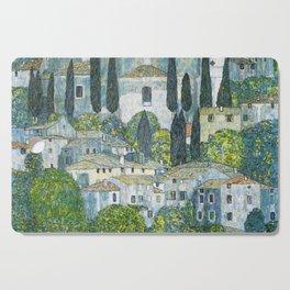 Gustav Klimt - Church in Cassone Cutting Board