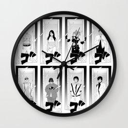 Edo Tensei Wall Clock