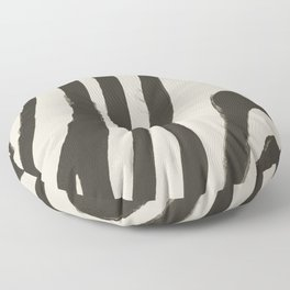 Painted Zebra Floor Pillow