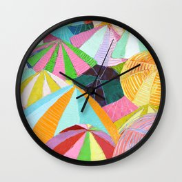 Shore Party Wall Clock